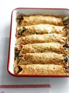 Savoury pancakes served with ingredients like eggs, pancetta, cheese, prawns or mushrooms are just as delicious as the sweet ones.