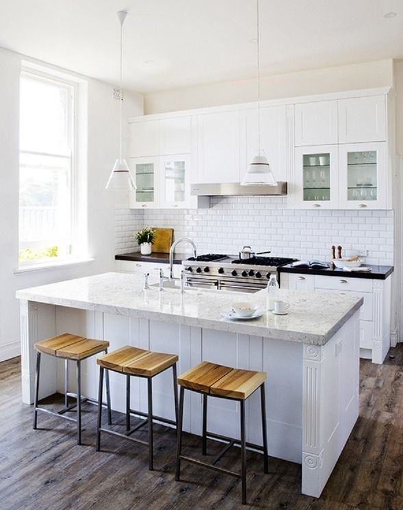 355 best images about kitchens on pinterest butcher for Country kitchen inspiration