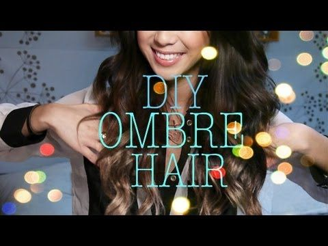 DIY Ombre Hair Extensions Video    All the materials needed are found at any hair supply store. I purchased everything from Sally's Beauty Supply with the help of the hair professionals there.    i am NOT a professional hair stylist but this is an easy step by step of how you can try this ombre method at home. Results will vary with hair color and style depe...