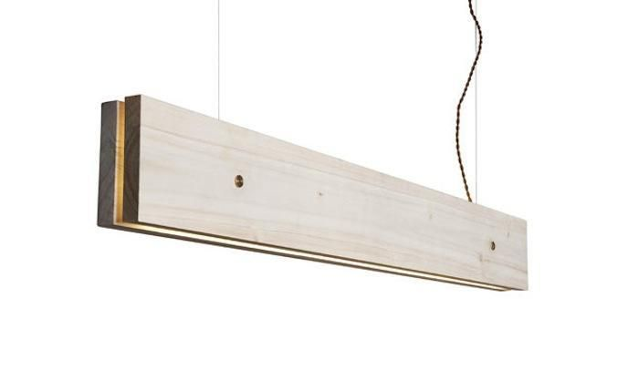 Designed by Frida Ottemo Fröberg and Marie-Louise Gustafsson for Oslo-based Northern Lighting, the LED Plank Lamp (Northern Lighting).