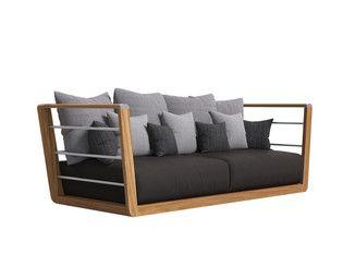 Oltre 25 fantastiche idee su divano da giardino su - Idee per rifoderare divano ...