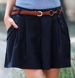 Patterns shorts: classic, short, skirt-shorts   pokroyka.ru-cutting and sewing lessons