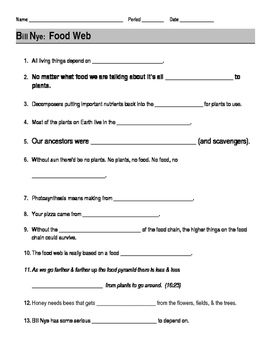 Worksheets Bill Nye Volcanoes Worksheet student the ojays and bill nye on pinterest this 13 question worksheet provides a way for students to follow along with nye