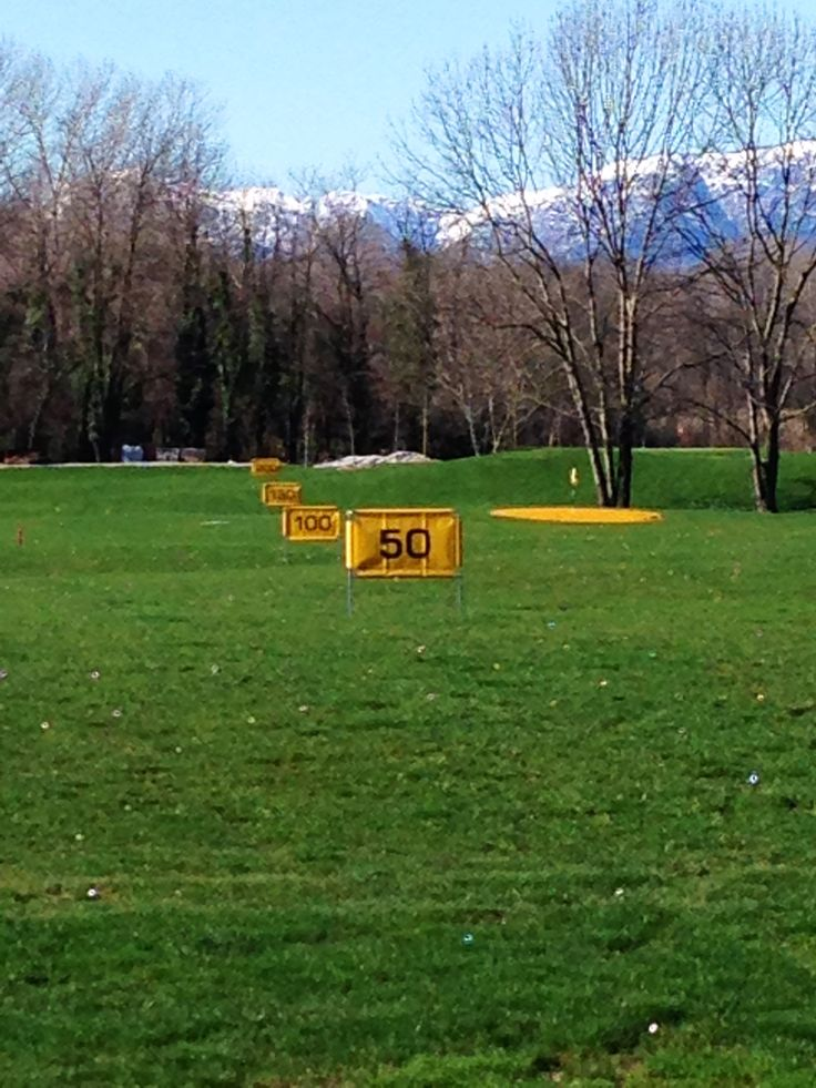 Driving Range at the Golf Club Udine, Fagagna - Italy