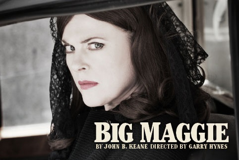 Big Maggie @ Town Hall Theatre, Galway. Druid. Dress rehearsal (thanks!). By John B. Keane, directed by Garry Hynes, featuring Aisling O'Sullivan. November 10, 2011 (with MA colleagues).