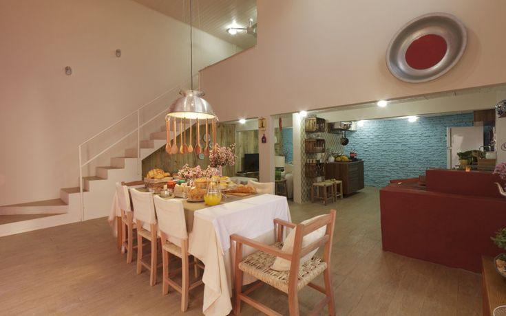 Sala de jantar e cozinha conjugadas e bastante amplas: Sweet Home, Dining, Home Sweet, Room, Only Mine