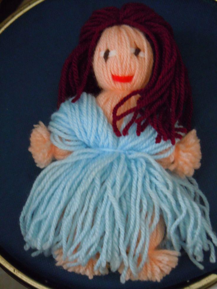 yarn doll.