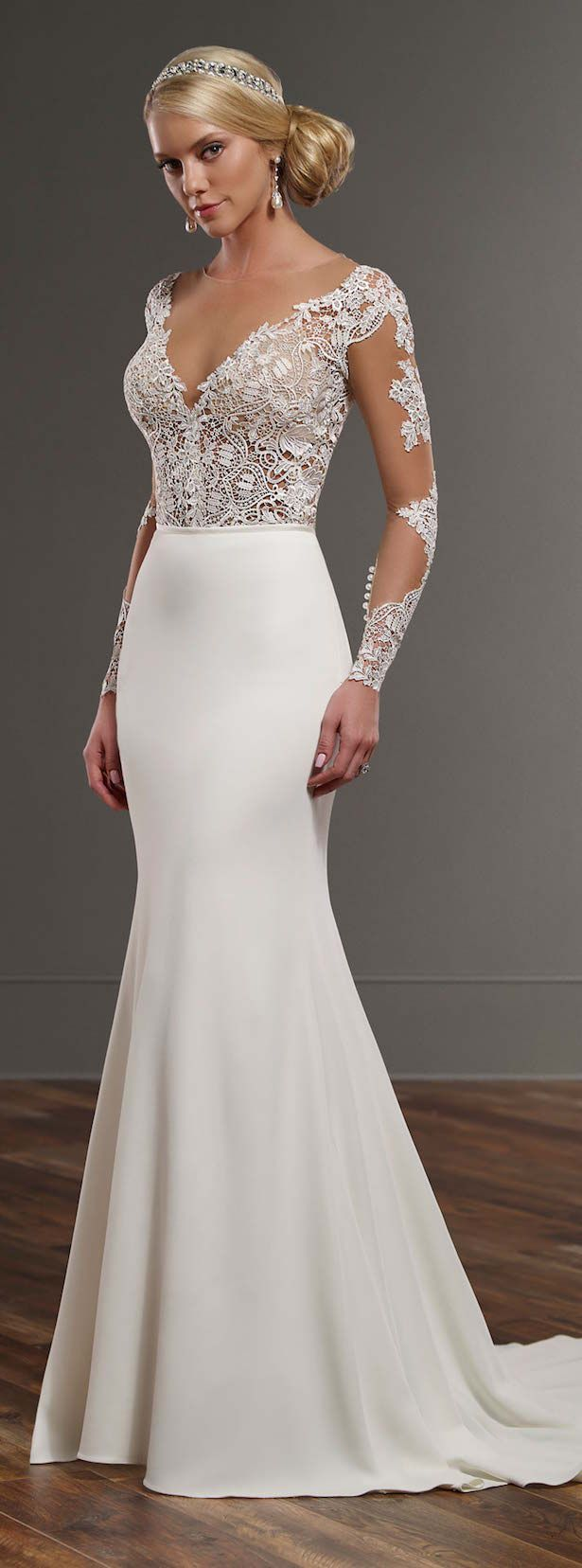 Source: Martina Liana Spring 2016 Bridal Collection   via: http://www.dreammakersevent.com