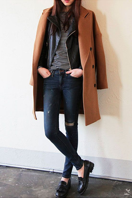 Get into the fashion layering game. Need some outfit inspiration? These 15 stylish ladies sure know how to wear fall layers.