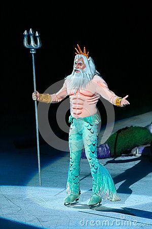 king triton costume | King Triton Of Little Mermaid Stock Image - Image: 28386791