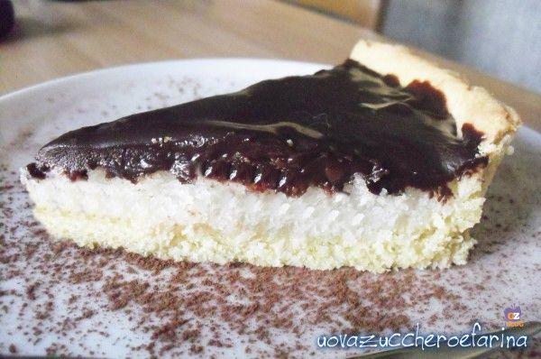 Cioccococco, crostata cioccolato e cocco