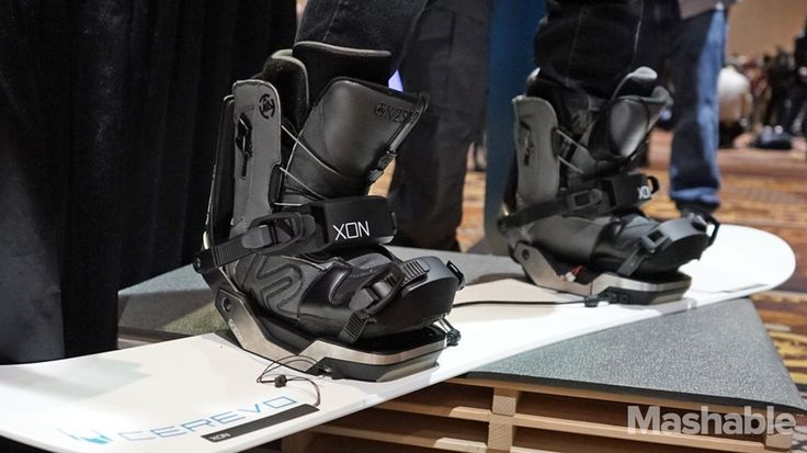 Connected snowboard bindings will help you ride smarter  | Japan-based Cerevo has introduced XON Snow-1, a set of sensor-enabled snowboard bindings that track your movements and weight distribution as you ride. (Bindings hold the rider's boots to the board.)