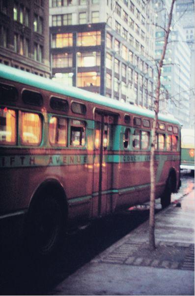 5th Avenue Bus  Saul Leiter, ca. 1955