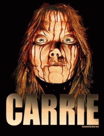 Carrie Gif scary animated movie gif stephen king freaky horror carrie sissy spacek