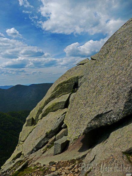 Cliffs on Saddleback Mt., Adirondack High Peaks, NY
