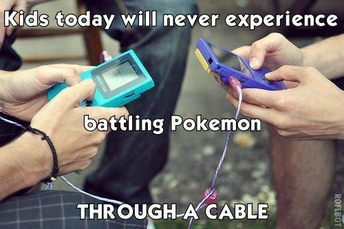 So true. A wireless world just isn't as fun.Games, Old Schools, Remember This, 90S Kids, Pokemon, Childhood Memories, Funny Pictures, Growing Up, The 90S