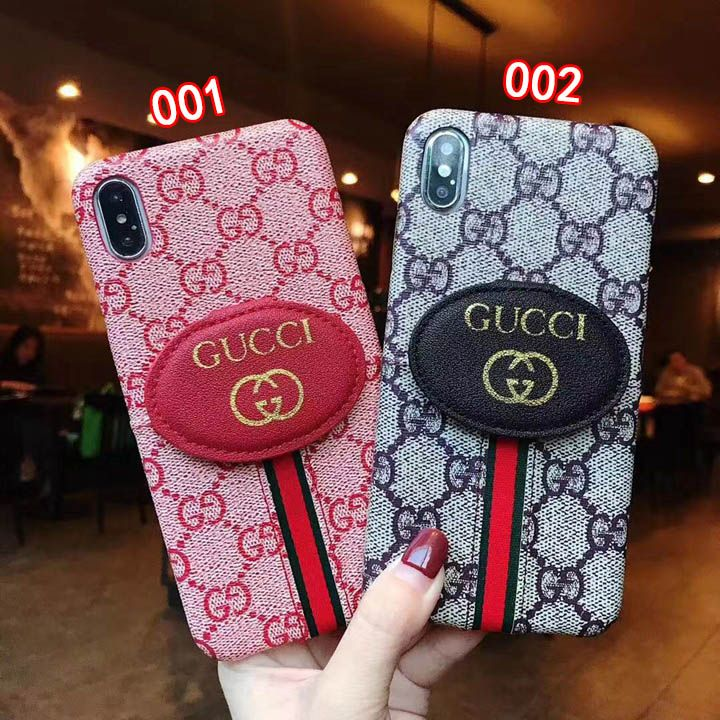 グッチ Iphonexsケース背面カード入れ かわいい電話ケース 携帯 ケース Iphoneケース