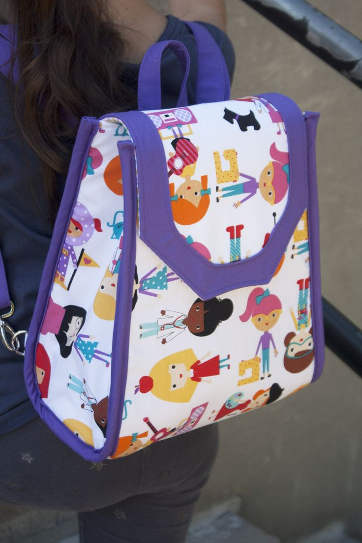 95 best Backpack images on Pinterest | Bags, Bag and Free pattern