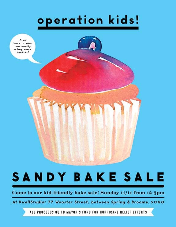 New York Bake Sale Poster