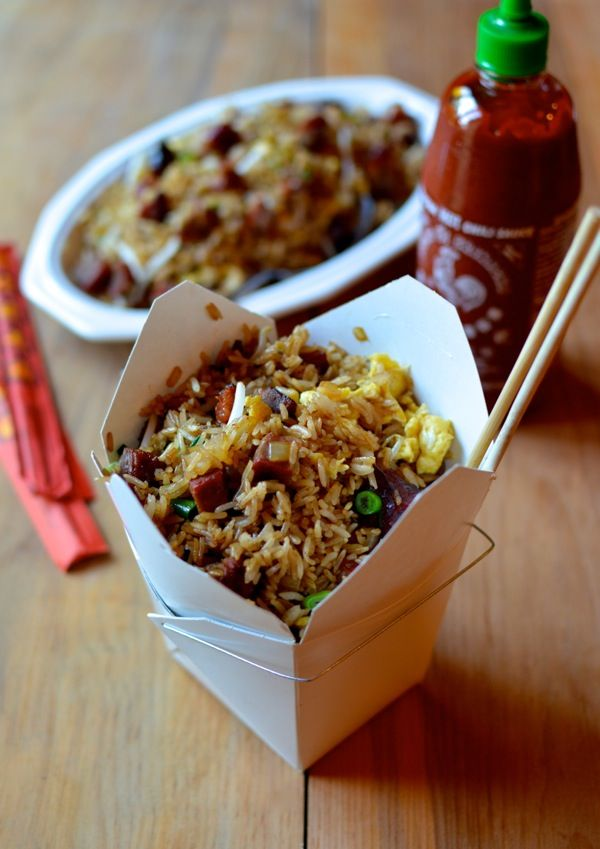 Classic Pork Fried Rice...The woks of Life
