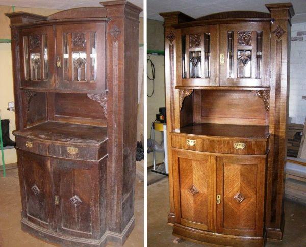 Фото: Новая жизнь: идеи для реставрации старой мебели (Фото)