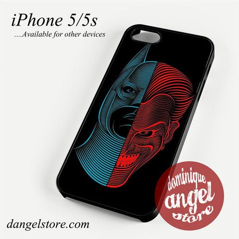 Batman And Joker Abstract Phone case for iPhone 4/4s/5/5c/5s/6/6 plus