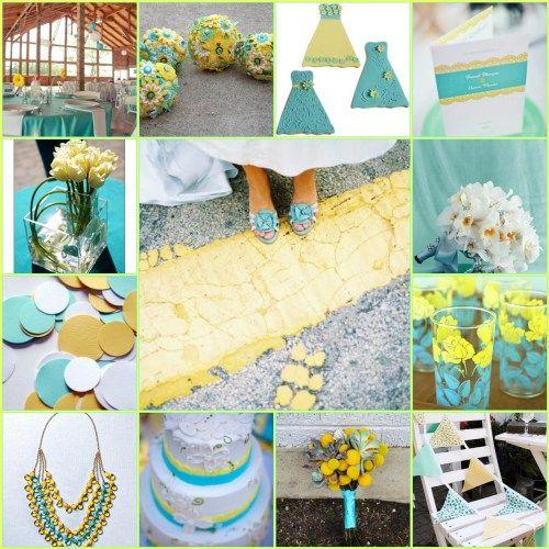 Yellow Wedding Colors Wedding Color Schemes Yellow Weddings Yellow Brick Road Unique Cakes Color Charts Blue Yellow Wedding Dreams Dream Wedding
