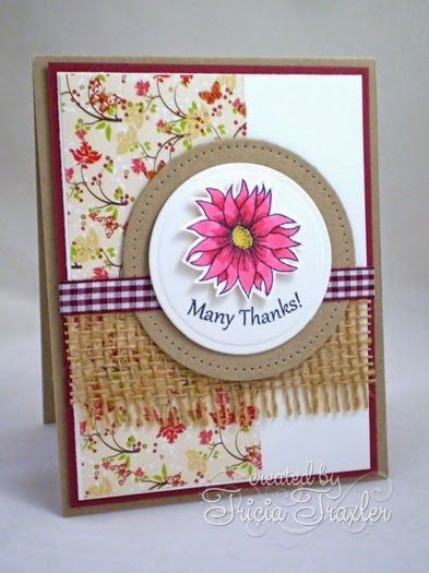 ... Simply Stamping ...: {Gina K Designs} The Simple Things Stamp TV Kit and Always Autumn