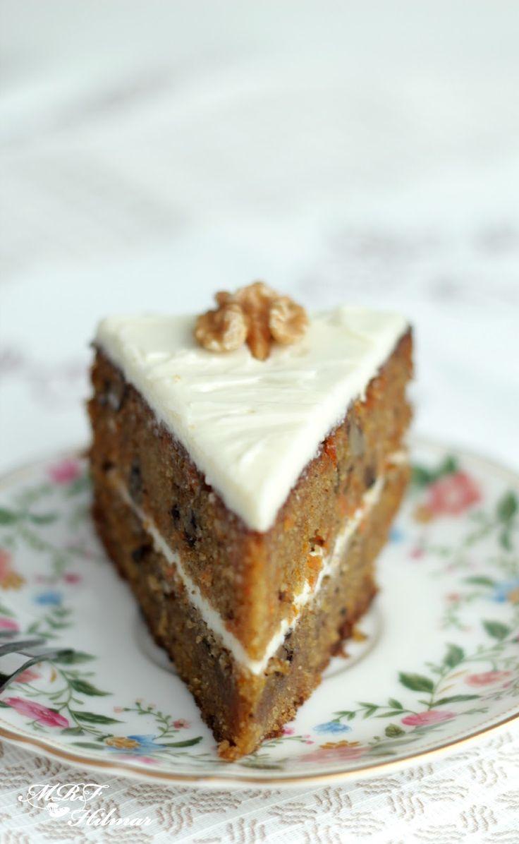 Una torta riquísima!!! Tienen que probarla...  Hace unos días una seguidora me preguntó si tenía una receta de torta de zanahoria rica,...