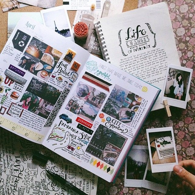 Love the look - and combo of pics - journaling & ephemera