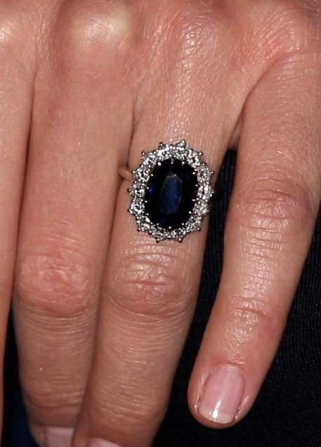 Catherine Duchess Of Cambridge 39 S Engagement Ring Now