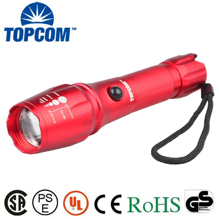 [Free ship]3800LM XML T6 LED high powerful  flashlight torch Tactical Hard Light Flashlight Torch For camping hunting outdoor