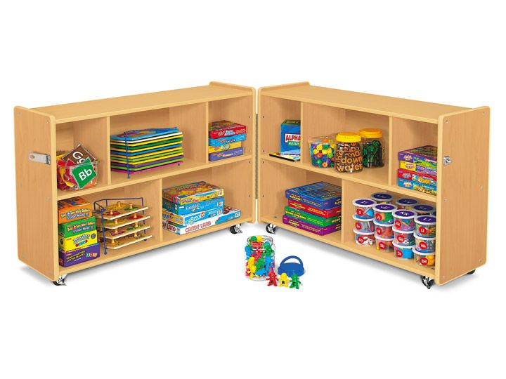 Heavy Duty Fold U0026 Roll Storage Unit At Lakeshore Learning