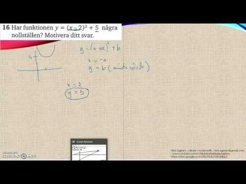 Matematik 5000 Ma 2c   Kapitel 2   Algebra och ickelinjära modeller   Bl...