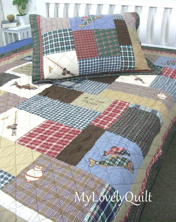 Country Fishing Quilts Fish Theme Quilts Http Www Ebay