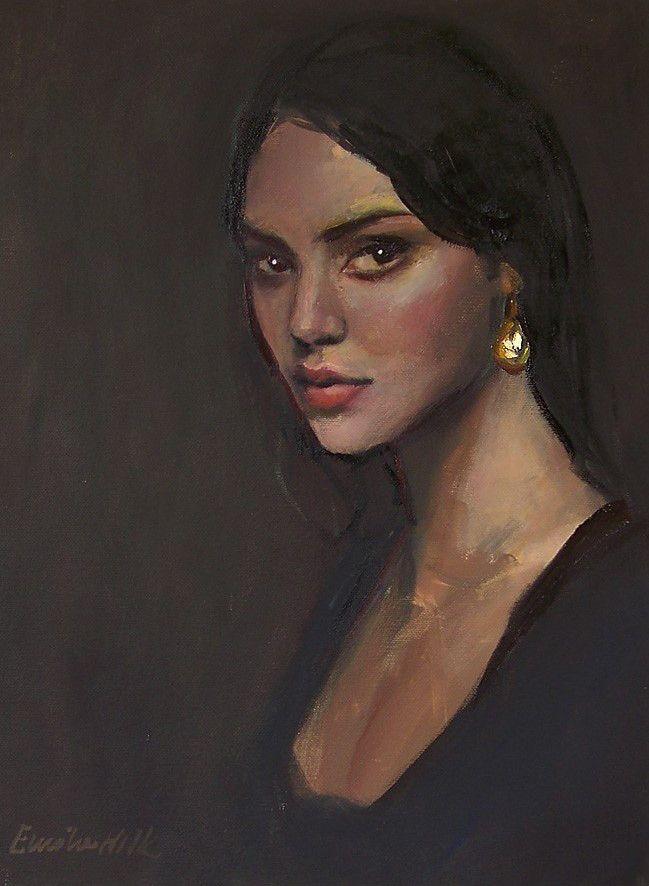 Emilia Wilk, 1983 ~ Figurative painter