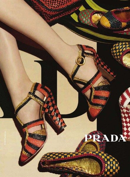 I like the visual interest the shoes create in the semi-circle shape. Also like…