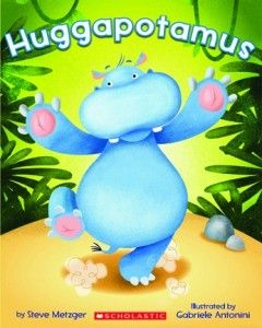 Huggapotamus-Albert is a BIG hippo with an even BIGGER heart. But when he tries to show his friends how much they mean to him, nothing turns out right. And now no one wants to play with him. What's a huggapotamus to do?- To teach kids about personal space