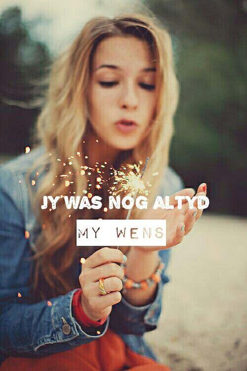 Jy is my wens