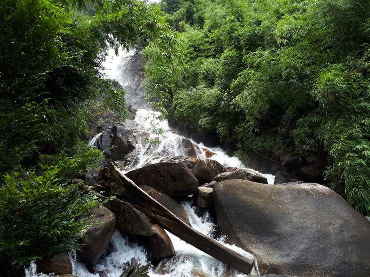 Krathing Waterfall. Chanthaburi Thailand