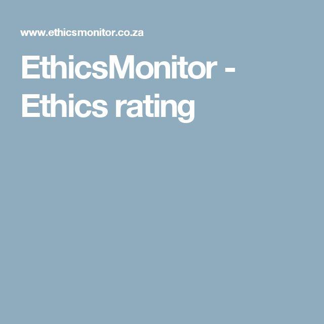 EthicsMonitor - Ethics rating