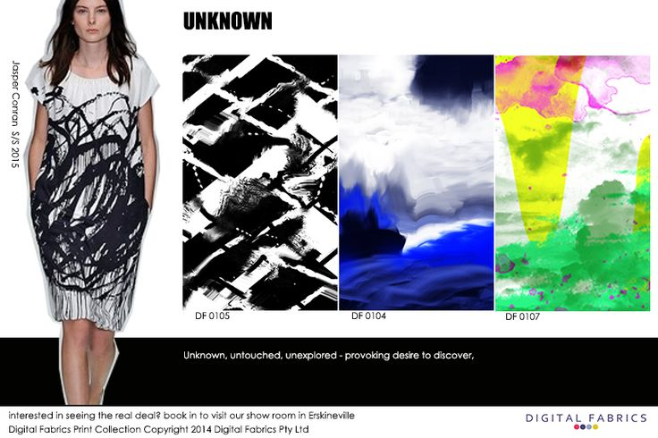 designs from our print collection #print #design #digitalfabrics #unknown #blue #green #black #white #pink #fabric #inspiration #printcollection #fashionprinting