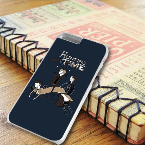 Adventure Time Hunting Supernatural iPhone 6 Plus|iPhone 6S Plus Case