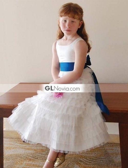 vestidos blancos para niña