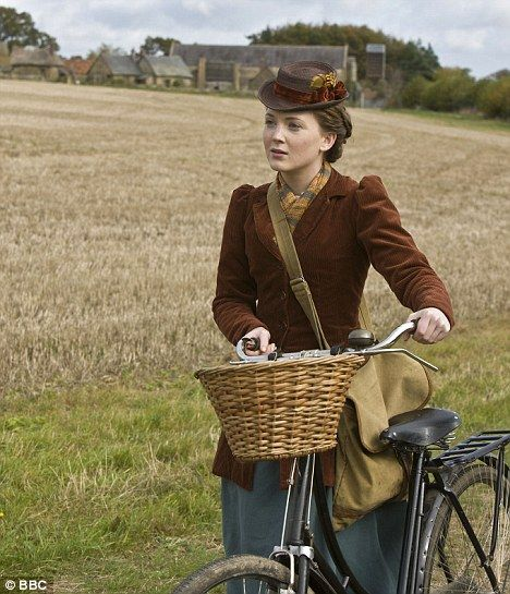 lark rise to candleford laura bike - Google Search