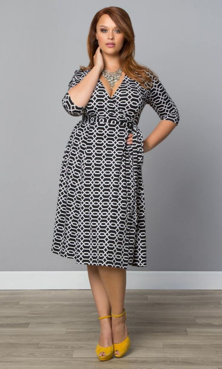 Kiyonna Essential Wrap Dress