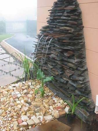 slate waterfeature