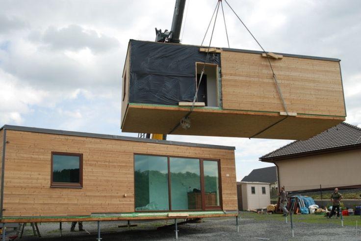 Montovaný dům - modul T