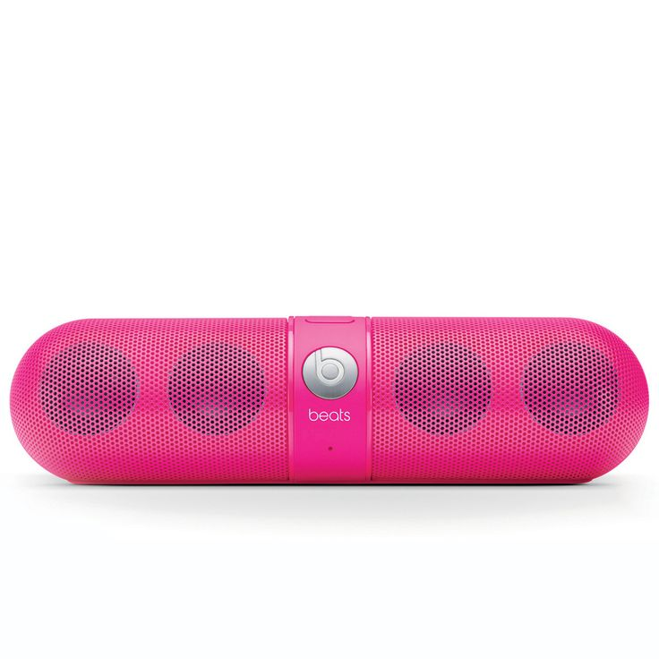 Beats by Dre portable wireless speaker. Control playback right from your phone, laptop, or any other Bluetooth-enabled device from up to 30 feet away.