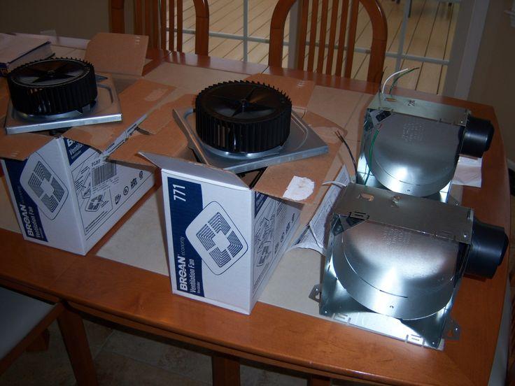 Bathroom Exhaust Fan Pipe Size